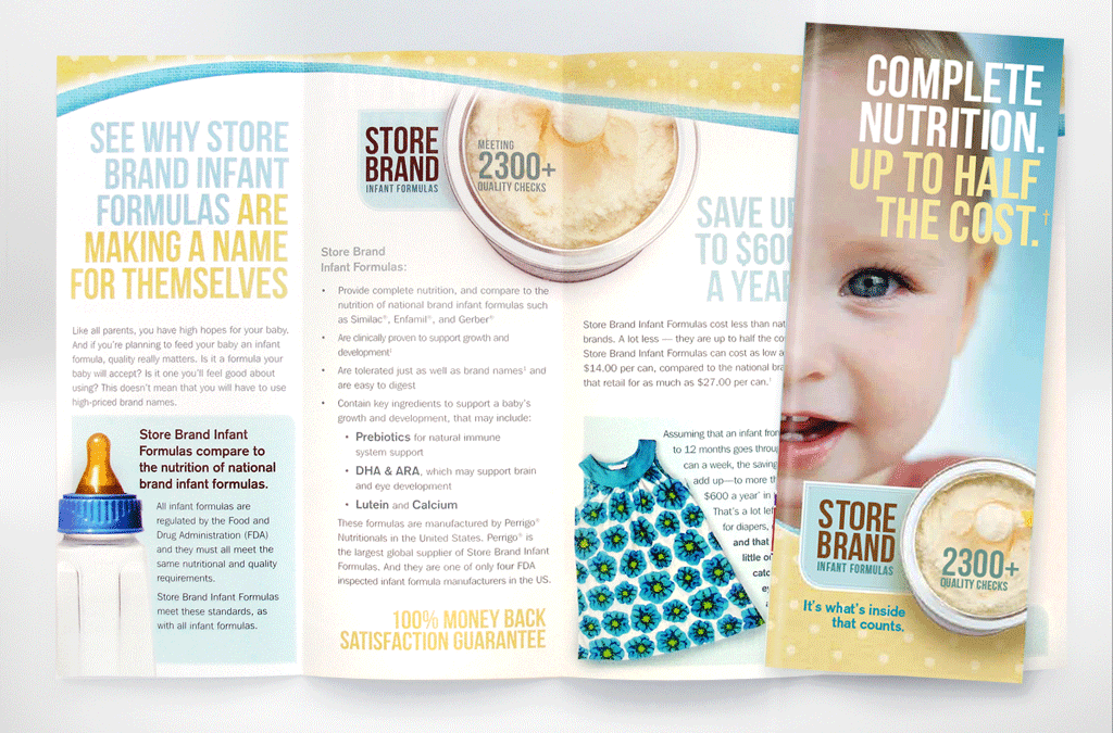 Medical marketing for America's largest Infant food supplier.