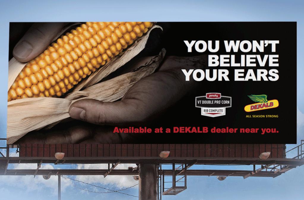 Multiple award-winning Dekalb advertising.