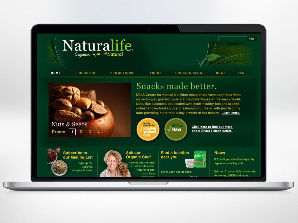 Naturalife Brand identity created for Loblaws.