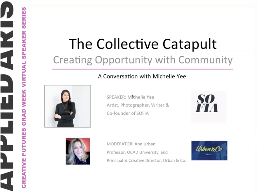 Webinar hosting for future creatives